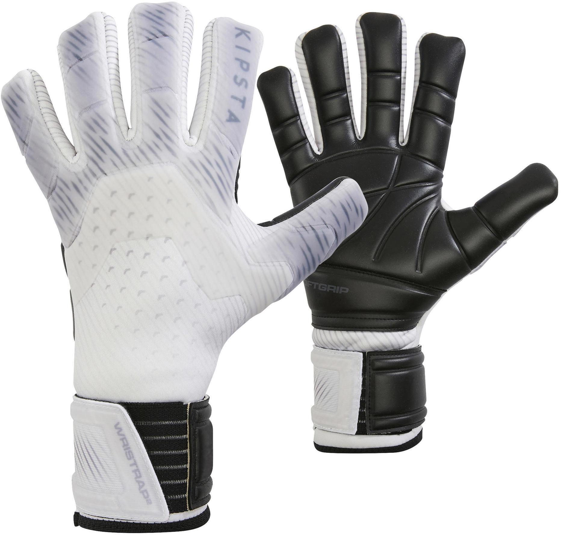 Rękawice bramkarskie dla dorosłych Kipsta F900 z odwróconymi szwami