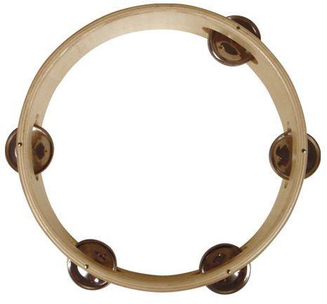 Reig 15 cm drewniany pierścień tamburyn
