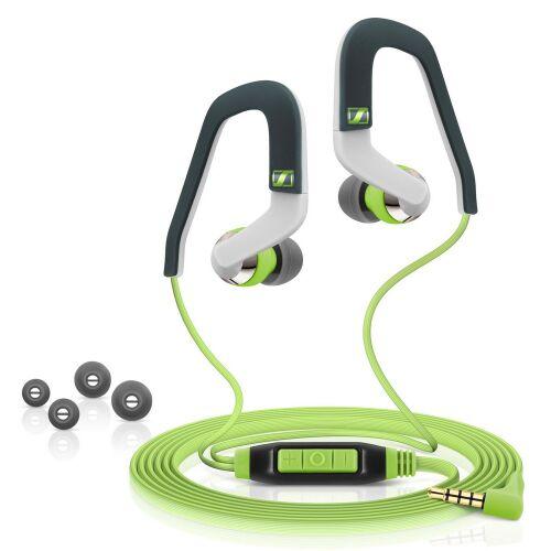 Sportowe słuchawki dokanałowe Sennheiser OCX 686G SPORTS, zielone