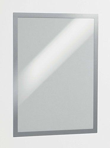Ramka magnetyczna samoprzylepna Duraframe A3 - srebrna / 2 szt.