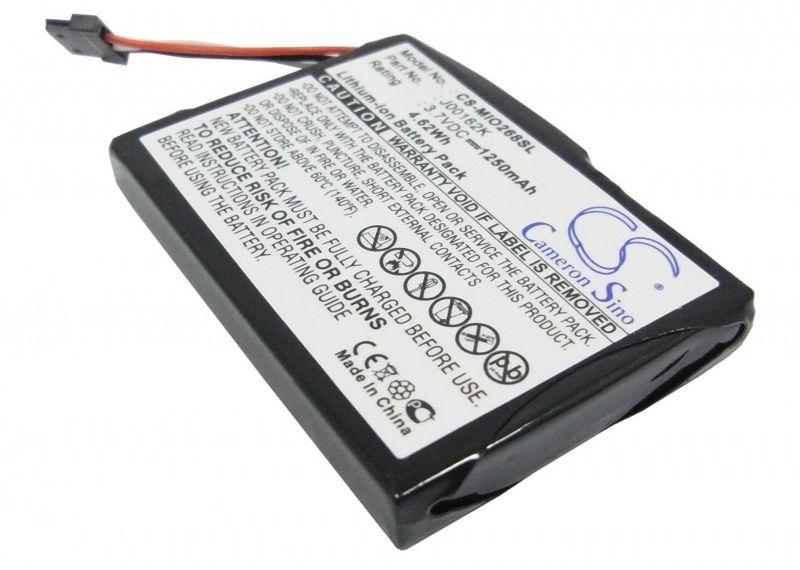 Mitac Mio 268 1250mAh 4.63Wh Li-Ion 3.7V (Cameron Sino)