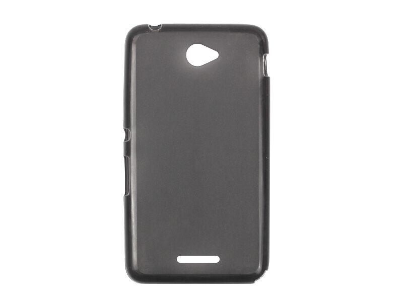 Sony Xperia E4 - etui na telefon FLEXmat Case - czarny