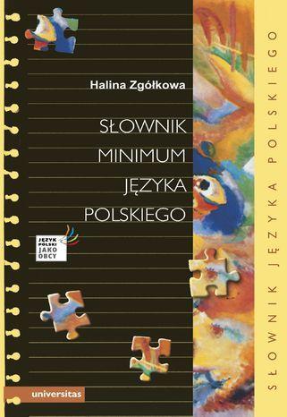 Słownik minimum języka polskiego - Ebook.