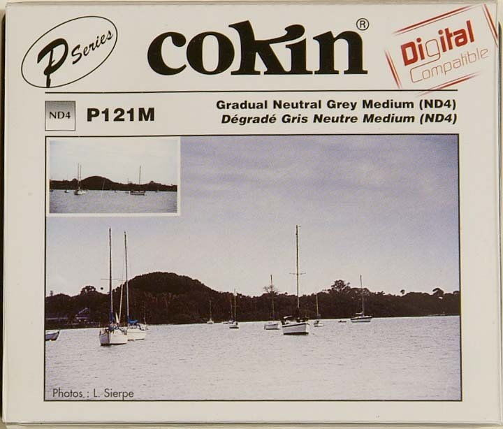 COKIN P Filtr połówkowy szary ND4 NDx4 zam. P121M