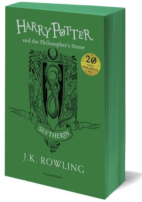 Harry Potter and the Philosophers Stone Slytherin Edition ZAKŁADKA DO KSIĄŻEK GRATIS DO KAŻDEGO ZAMÓWIENIA