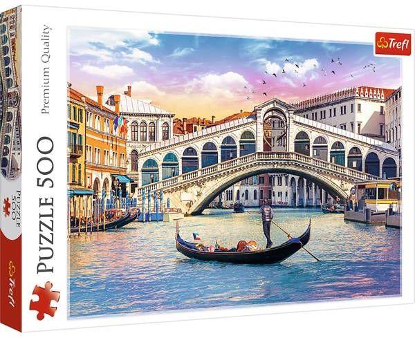 Puzzle 500 Most Rialto Wenecja 37398 - Trefl PAP