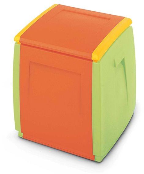 Dwukolorowe Pudło Skrzynia Na Zabawki Box 55 Kids Terry