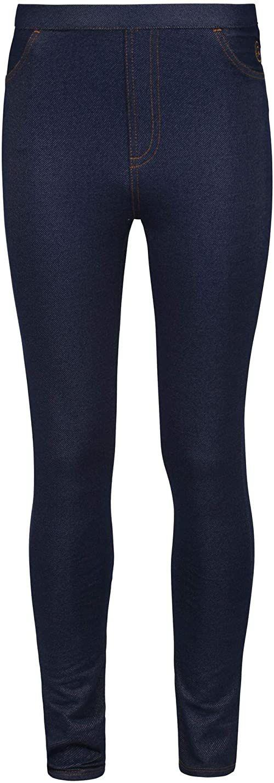 Regatta Unisex dziecięce spodnie Samanda Tregging niebieski indygo FR : S (Taille Fabricant : 7-8)