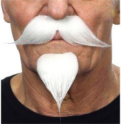 Żywe kostiumy 203904 wąsy, wielokolorowe, jeden rozmiar