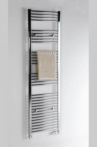 Grzejnik łazienkowy prosty 500x688mm, 274W, chrom ALYA