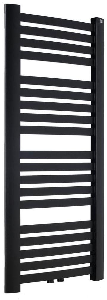 Grzejnik łazienkowy LUXUS 1025 x 480 czarny mat strukktura EQUATION