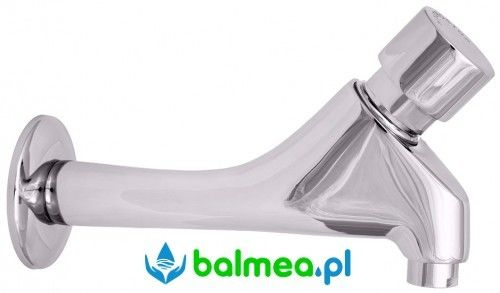 Bateria ścienna umywalkowa samozamykająca
