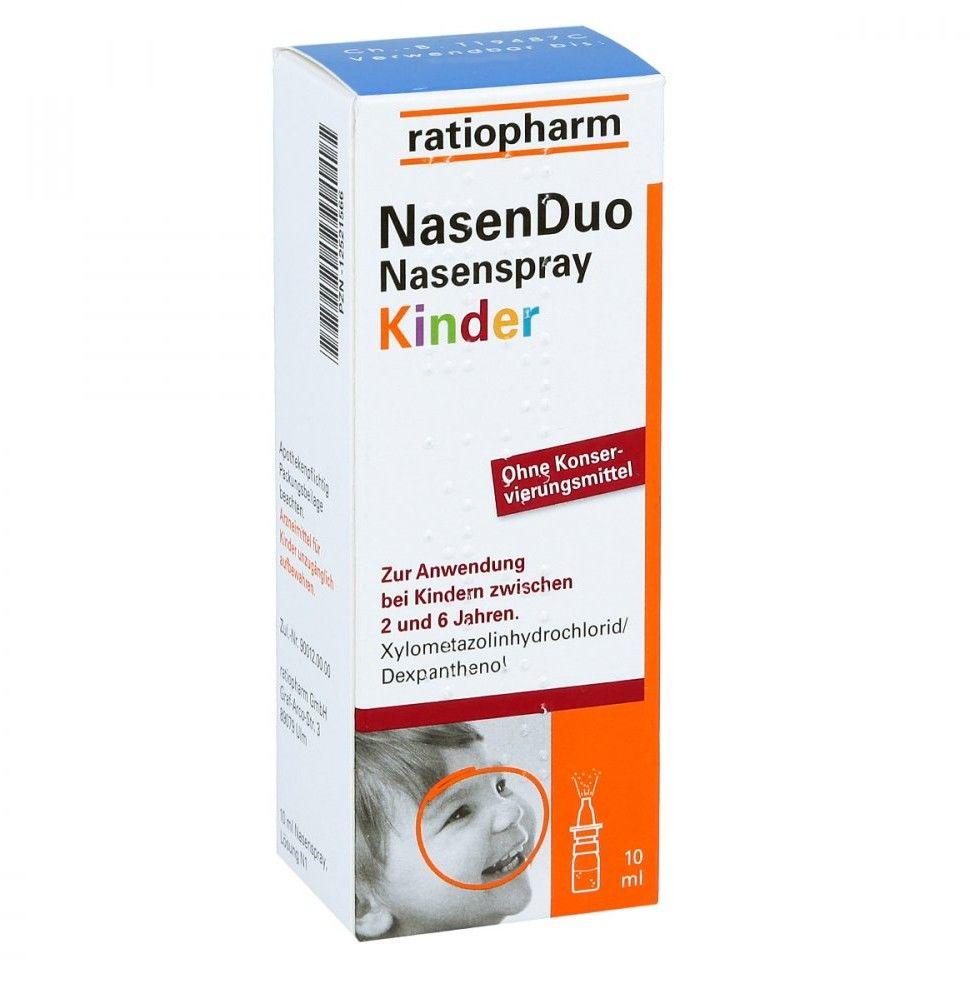 NasenDuo Kinder spray do nosa dla dzieci