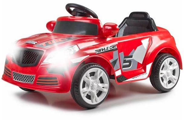 Feber Samochód na Akumulator 12V ze Światłami Pilot LK