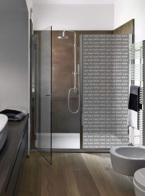 Plage 161003 folia samoprzylepna do kabiny prysznicowej, winylowa, szara, 80 x 200 cm