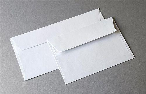 Koperta biała DL 110x220mm Millenium 120g/m2 10szt. /282201/