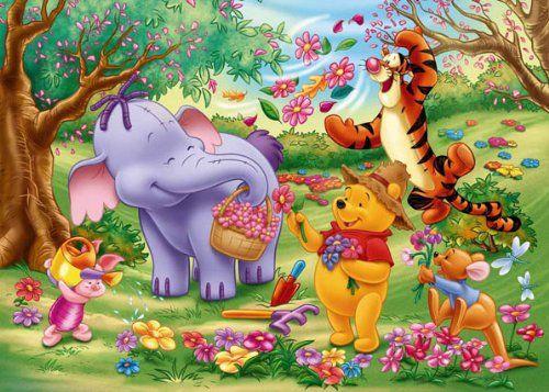 Clementoni - 24347 - Maxi s, Winnie the Pooh