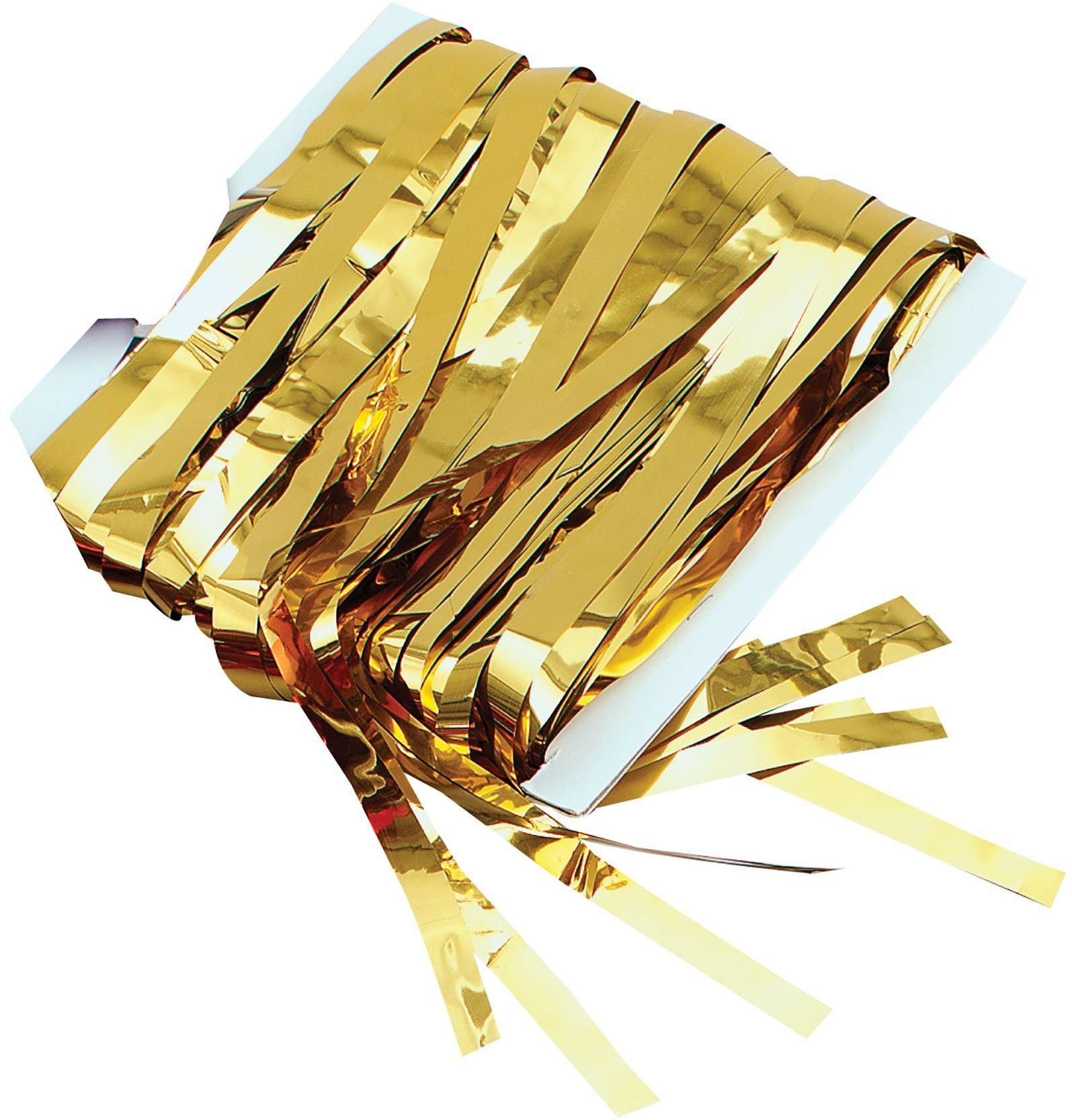 Bristol Novelty PG001A złota zasłona sznurkowa, jeden rozmiar