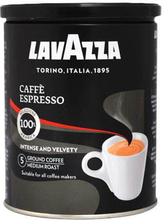Lavazza Caffe Espresso 0,25 kg mielona PUSZKA