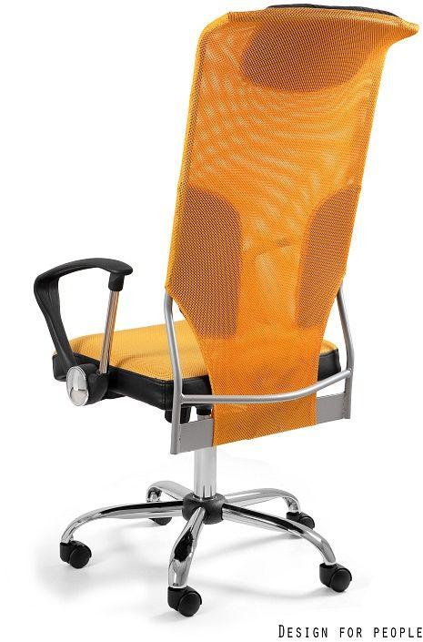 Fotel biurowy THUNDER żółty  Kupuj w Sprawdzonych sklepach