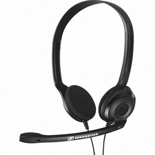 SENNHEISER PC 3 CHAT Słuchawki nagłowne z mikrofonem czarne