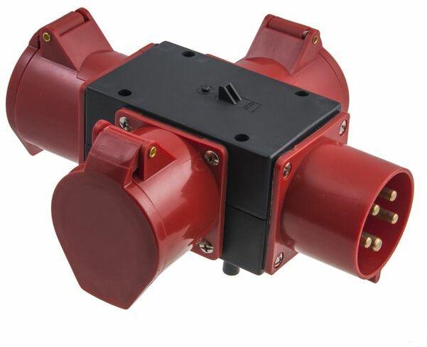 Rozdzielnica przenośna R-BOX MINI 1x32A5p/3x32A5p B.MINI-2