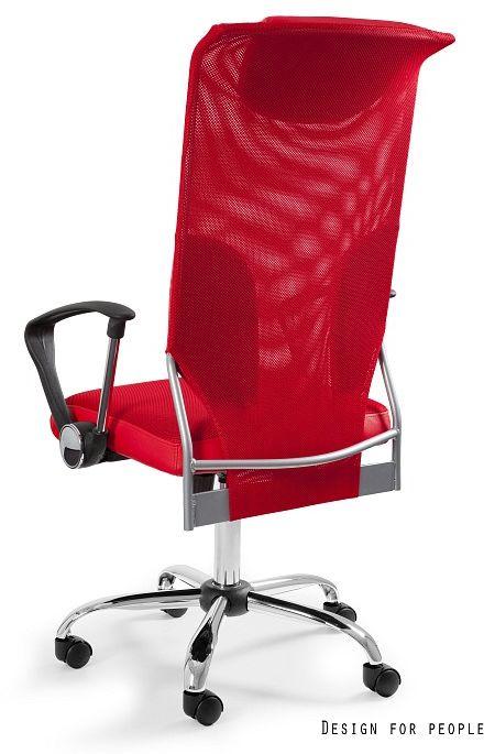 Fotel biurowy THUNDER czerwony  Kupuj w Sprawdzonych sklepach
