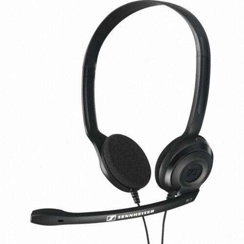 Słuchawki nagłowne z mikrofonem Sennheiser PC 31-II, czarne