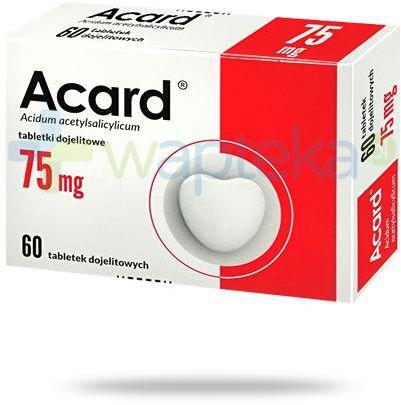 Acard 75mg 60 tabletek