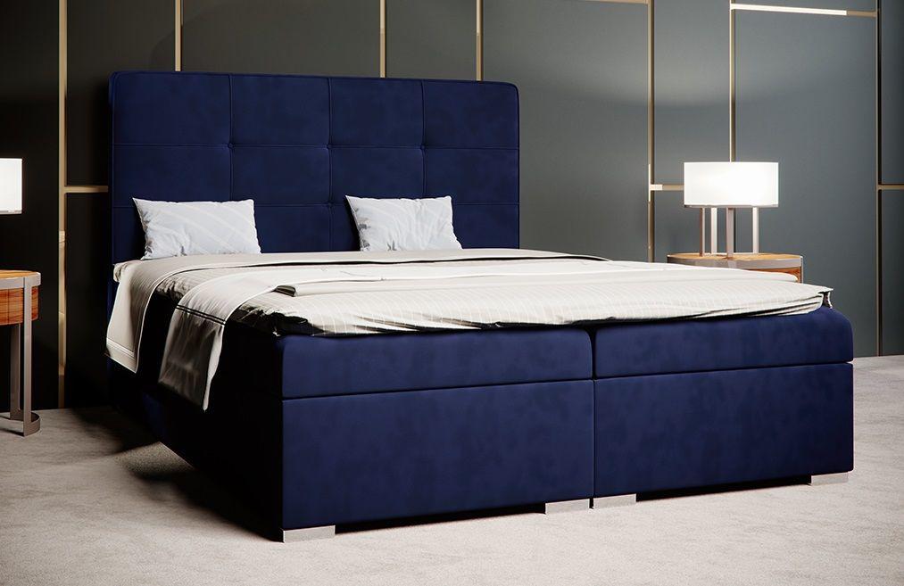 Łóżko tapicerowane kontynentalne LIMA
