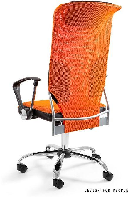 Fotel biurowy THUNDER pomarańczowy  Kupuj w Sprawdzonych sklepach