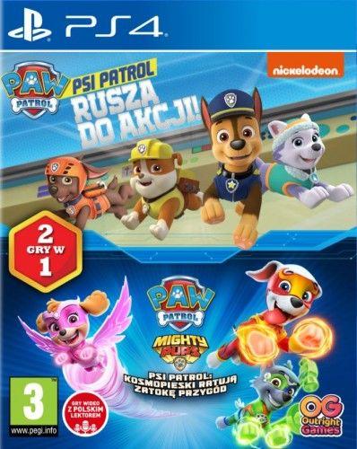 Psi Patrol Rusza do akcji + Kosmpieski PS 4