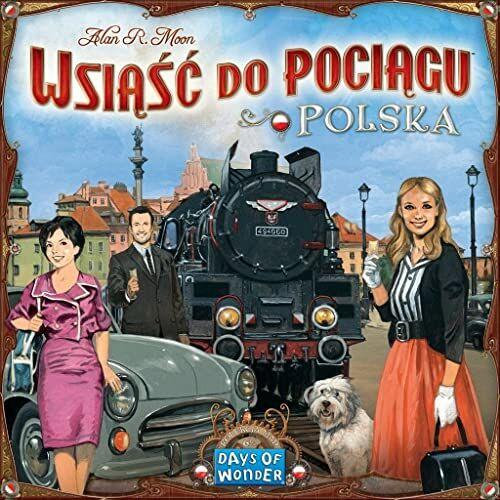 Dodatek do gry Wsiąść do Pociągu: Kolekcja Map 6.5 - Polska