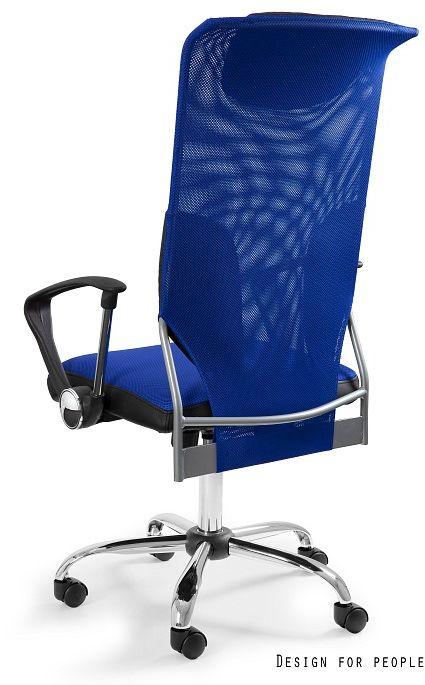 Fotel biurowy THUNDER niebieski  Kupuj w Sprawdzonych sklepach