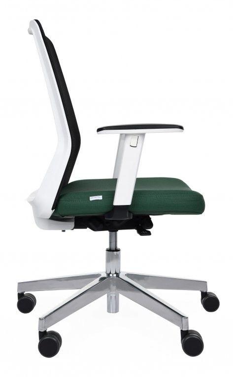 Grospol Krzesło biurowe Coco WS chrome tkanina Medley - 12 kolorów --- OFICJALNY SKLEP Grospol