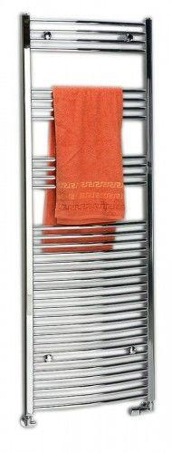 Grzejnik łazienkowy wypukły 500x688mm, 284W, chrom ALYA