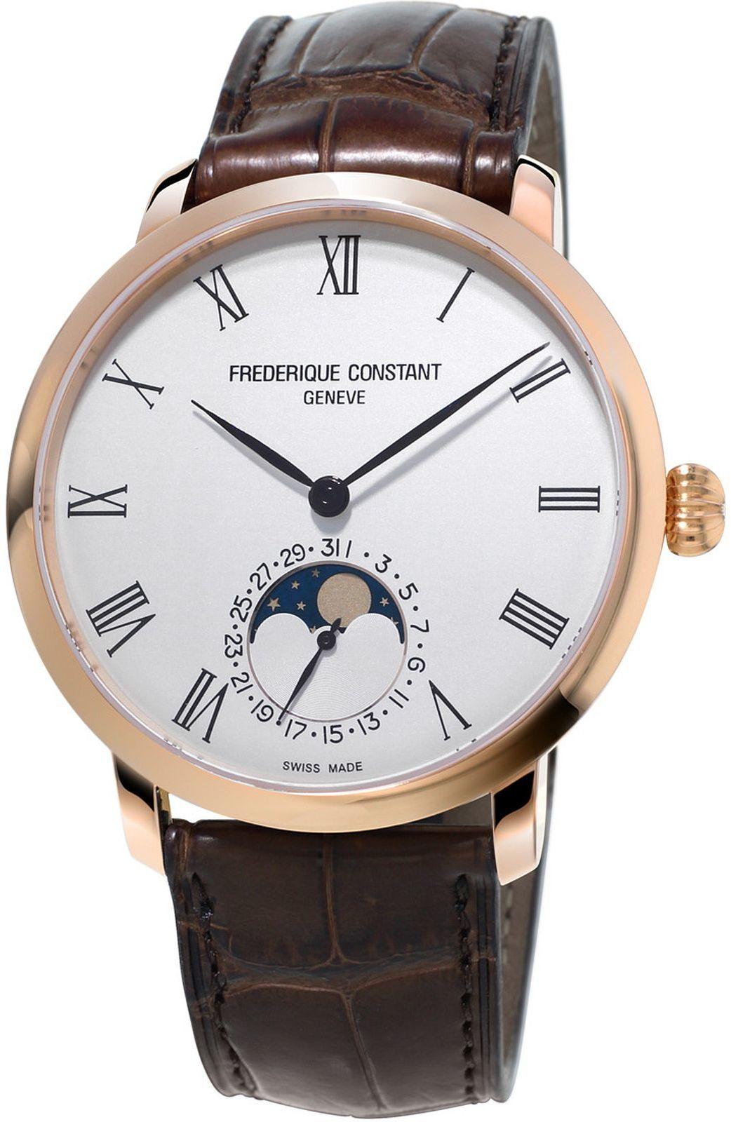 Zegarek męski Frederique Constant Slimline Moonphase Manufacture