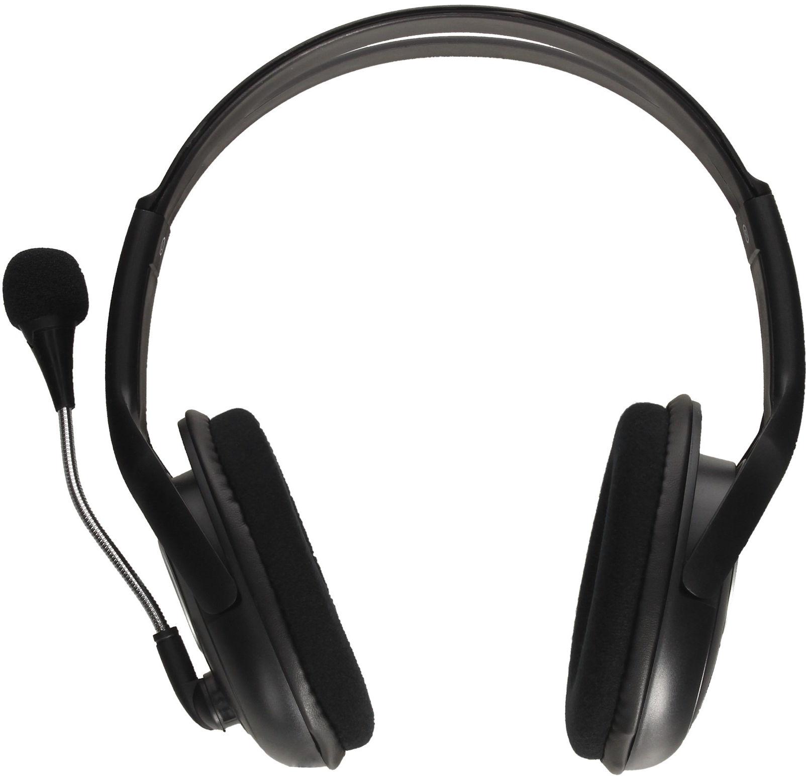 Słuchawki przewodowe nauszne z mikrofonem Natec Bear 2 NSL-1178