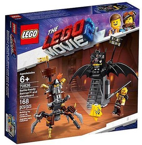 Lego The Movie 2 Batman i Stalowobrody 70836