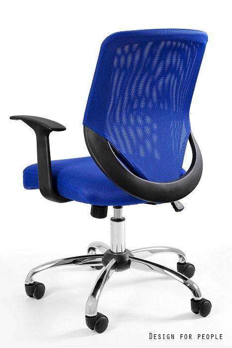 Fotel biurowy MOBI niebieski  Kupuj w Sprawdzonych sklepach