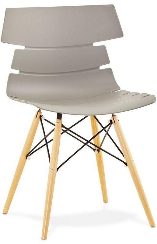 Kokoon design - krzesło plastikowe strata - szare