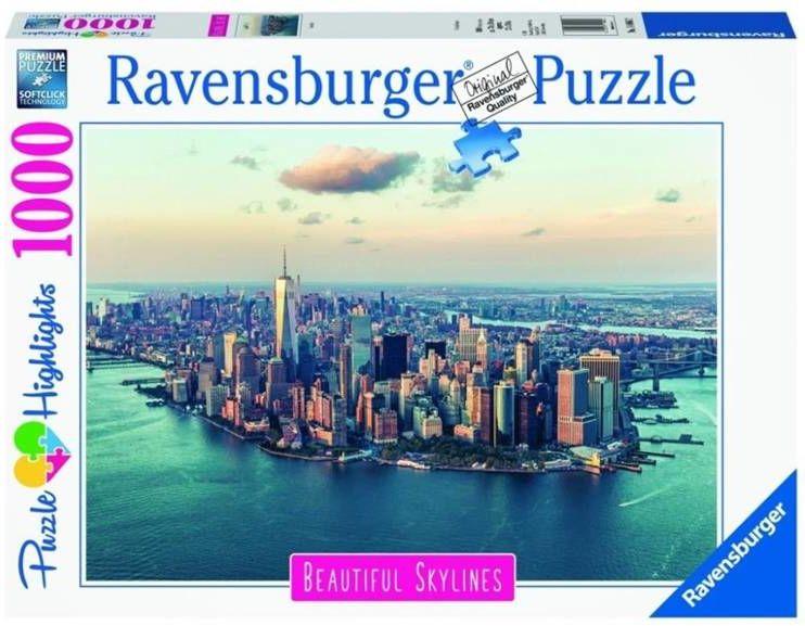 Puzzle 1000 Nowy Jork - Ravensburger