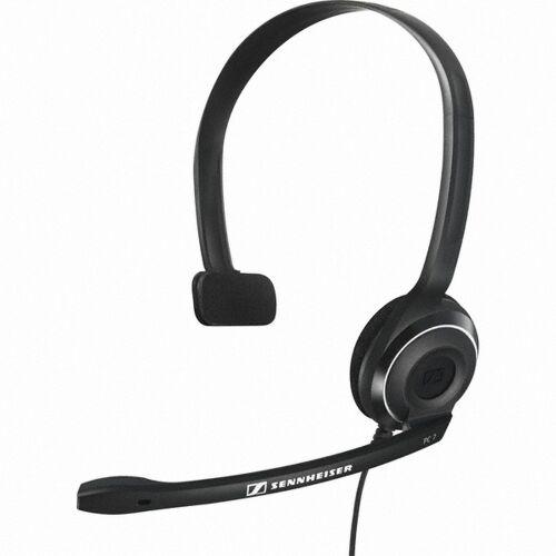Słuchawki nagłowne z mikrofonem Sennheiser PC 7 USB, czarne