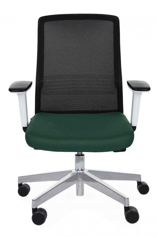 Grospol Krzesło biurowe Coco WS chrome tkanina Fame - 8 kolorów --- OFICJALNY SKLEP Grospol