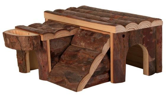 Drewniany domek LUKA dla chomika (trixie)