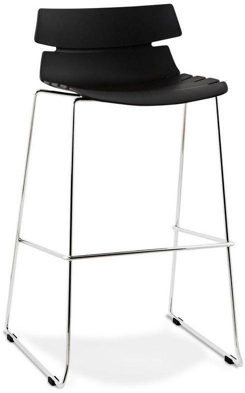 Kokoon design - krzesło wysokie reny - czarne