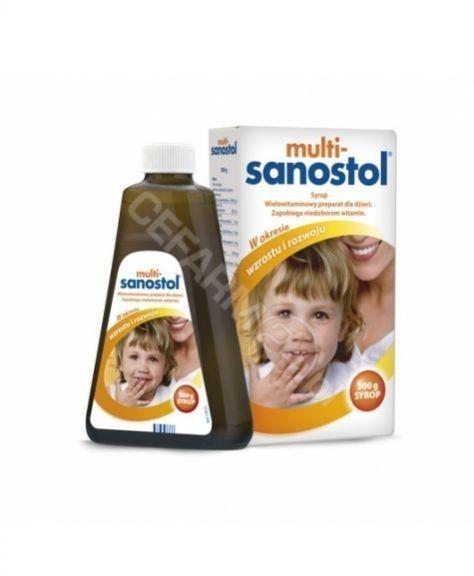 Multi-Sanostol syrop, 300 g