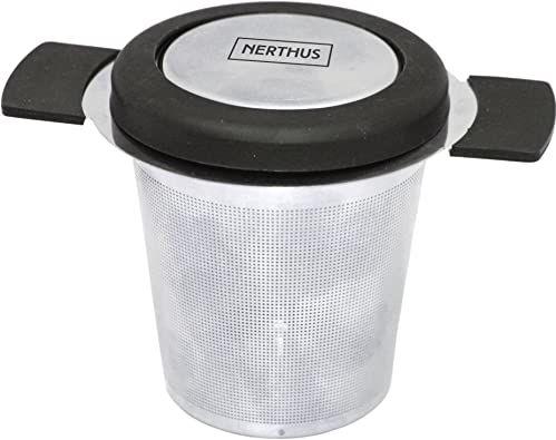 Nerthus FIH 261 zaparzacz do herbaty kompatybilny z każdym rodzajem kubków lub kubków. Podkładka w zestawie
