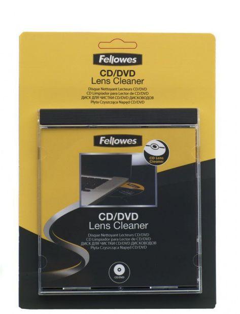 Płyta czyszcząca napęd CDDVD FELLOWES (99761)
