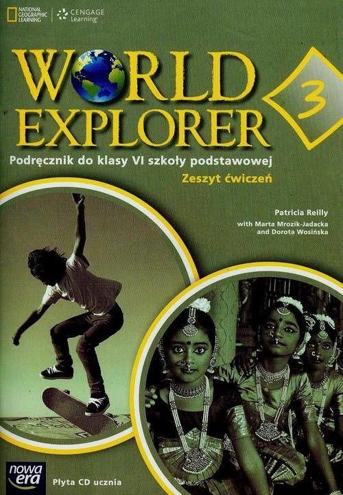 World Explorer klasa 6 Zeszyt ćwiczeń Część 3 + CD